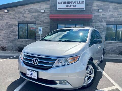 2012 Honda Odyssey for sale at GREENVILLE AUTO in Greenville WI