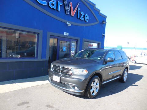 2015 Dodge Durango for sale at Carwize in Detroit MI