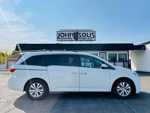 2015 Honda Odyssey for sale at John Solis Automotive Village in Idaho Falls ID