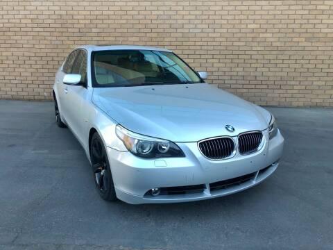2007 BMW 5 Series for sale at MK Motors in Sacramento CA