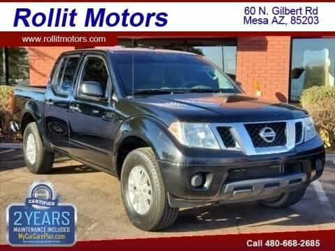 2015 Nissan Frontier for sale at Rollit Motors in Mesa AZ