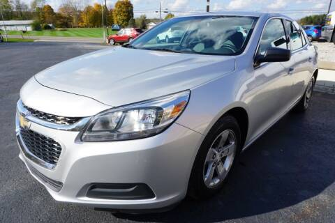 2016 Chevrolet Malibu Limited for sale at MyEzAutoBroker.com in Mount Vernon OH