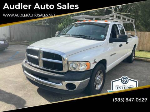 2005 Dodge Ram Pickup 3500 for sale at Audler Auto Sales in Slidell LA