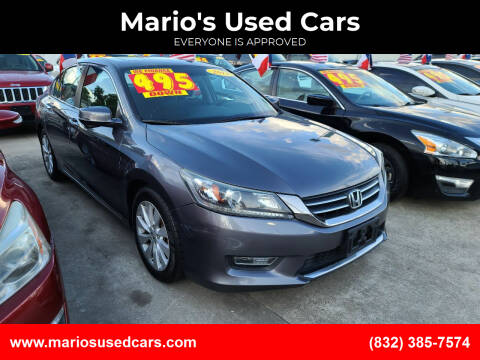 2013 Honda Accord for sale at Mario's Used Cars - South Houston Location in South Houston TX