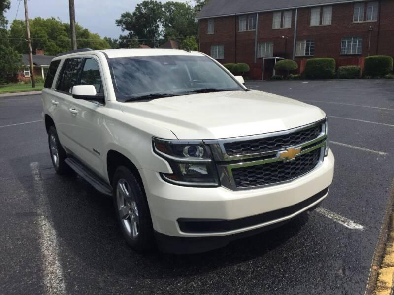 2015 Chevrolet Tahoe for sale at DEALS ON WHEELS in Moulton AL