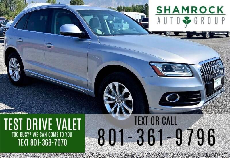 2016 Audi Q5 for sale at Shamrock Group LLC #1 in Pleasant Grove UT