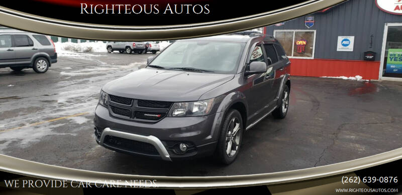 2015 Dodge Journey for sale at Righteous Autos in Racine WI