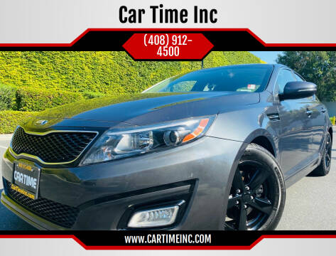 2015 Kia Optima for sale at Car Time Inc in San Jose CA