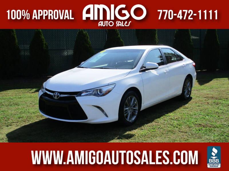 2017 Toyota Camry for sale at Amigo Auto Sales in Marietta GA