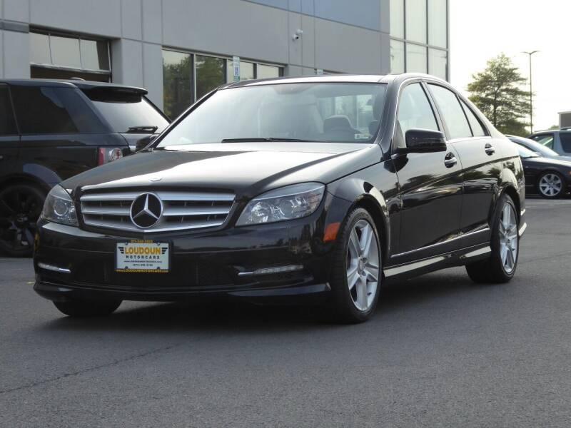 2011 Mercedes-Benz C-Class for sale at Loudoun Used Cars - LOUDOUN MOTOR CARS in Chantilly VA