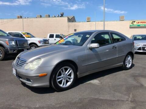 2003 Mercedes-Benz C-Class for sale at C J Auto Sales in Riverbank CA