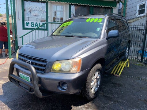 2001 Toyota Highlander for sale at Barnes Auto Group in Chicago IL