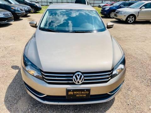 2015 Volkswagen Passat for sale at Good Auto Company LLC in Lubbock TX