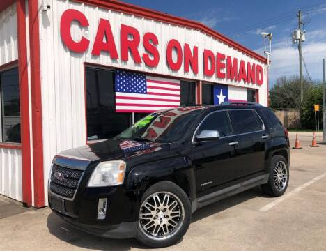 2012 GMC Terrain for sale at Cars On Demand 2 in Pasadena TX