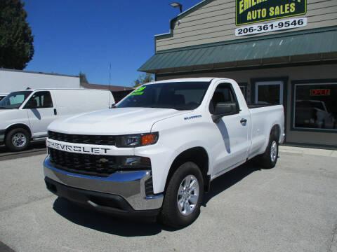 2020 Chevrolet Silverado 1500 for sale at Emerald City Auto Inc in Seattle WA