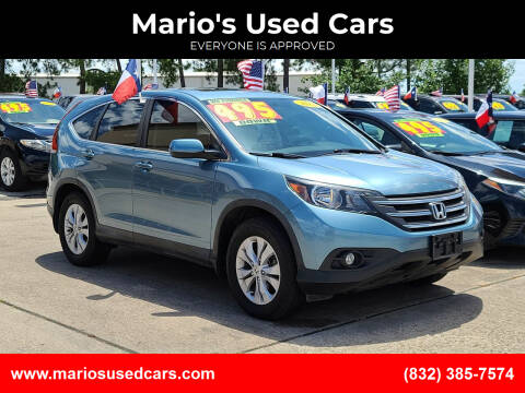 2014 Honda CR-V for sale at Mario's Used Cars in Houston TX
