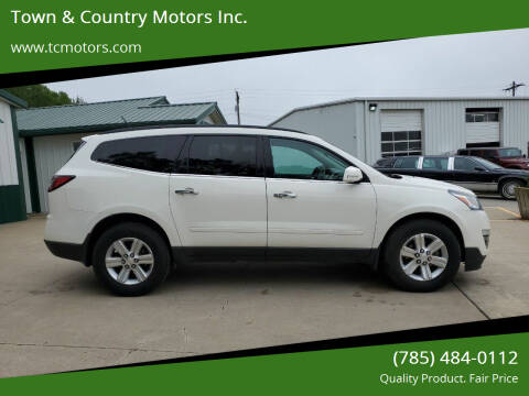 2014 Chevrolet Traverse for sale at Town & Country Motors Inc. in Meriden KS