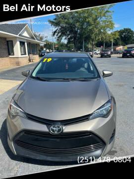 2019 Toyota Corolla for sale at Bel Air Motors in Mobile AL