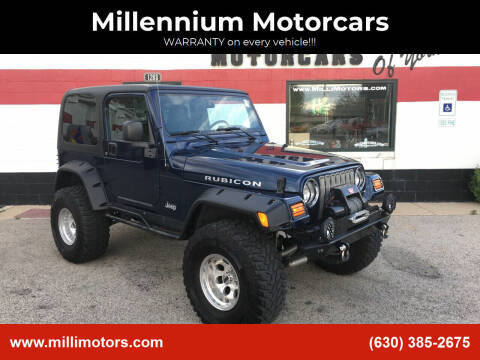 2005 Jeep Wrangler for sale at Millennium Motorcars in Yorkville IL