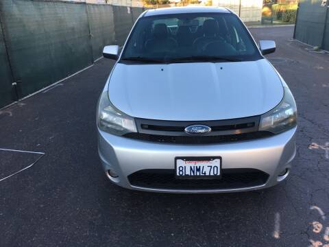 2010 Ford Focus for sale at Gold Coast Motors in Lemon Grove CA