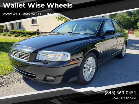 2006 Volvo S80 for sale at Wallet Wise Wheels in Montgomery NY