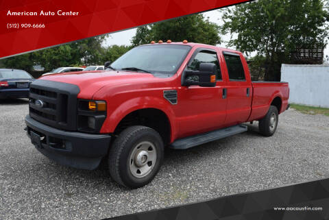 2009 Ford F-250 Super Duty for sale at American Auto Center in Austin TX