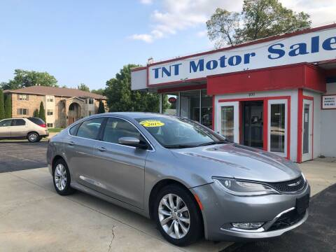 2015 Chrysler 200 for sale at TNT Motor Sales in Oregon IL