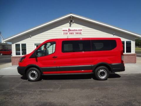 2016 Ford Transit Passenger for sale at GIBB'S 10 SALES LLC in New York Mills MN