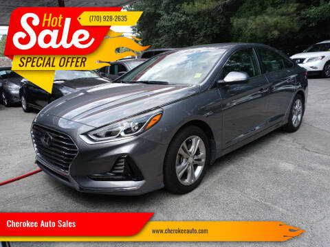 2018 Hyundai Sonata for sale at Cherokee Auto Sales in Acworth GA