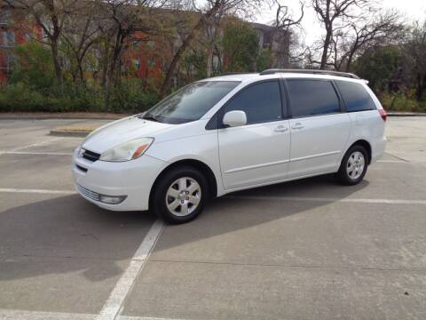 2004 Toyota Sienna for sale at ACH AutoHaus in Dallas TX
