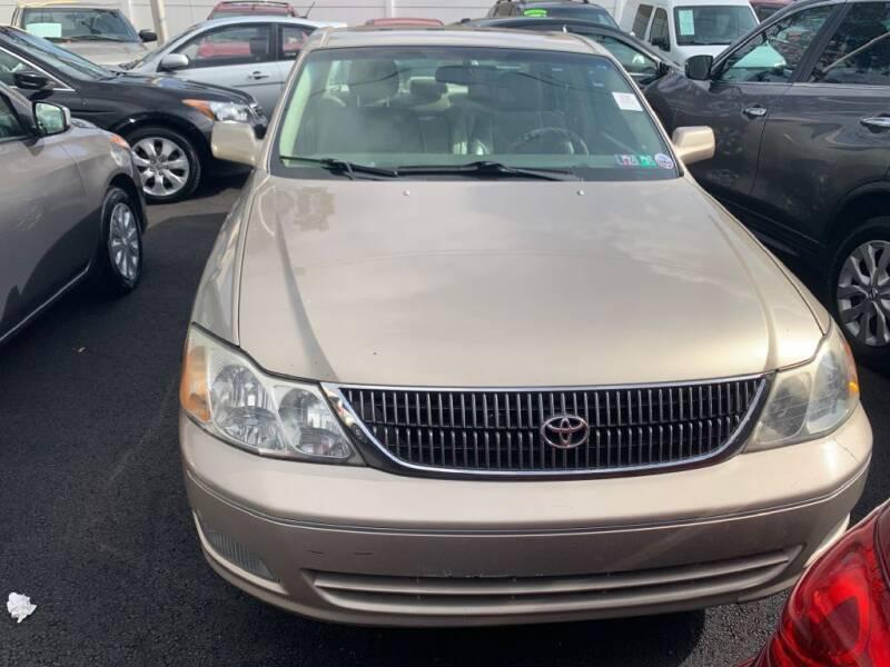 2000 Toyota Avalon for sale at Park Avenue Auto Lot Inc in Linden NJ