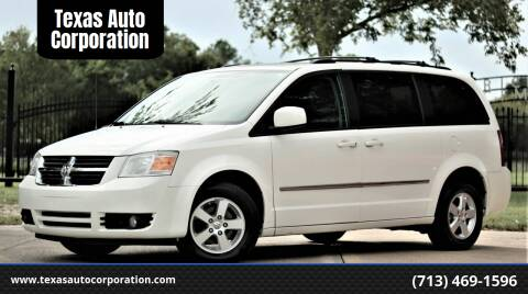 2010 Dodge Grand Caravan for sale at Texas Auto Corporation in Houston TX