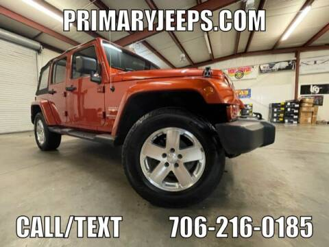 2009 Jeep Wrangler Unlimited for sale at Primary Auto Group in Dawsonville GA