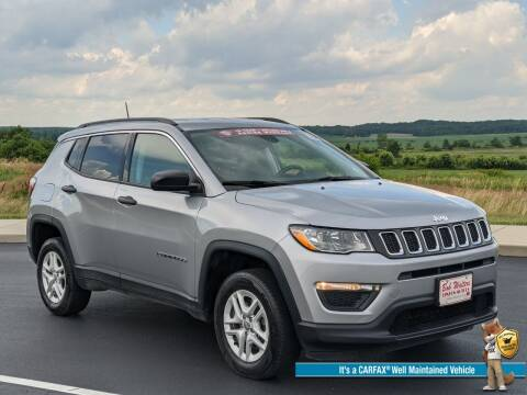 2019 Jeep Compass for sale at Bob Walters Linton Motors in Linton IN