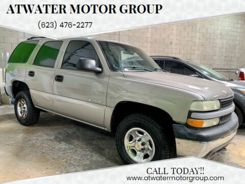 2002 Chevrolet Tahoe for sale at Atwater Motor Group in Phoenix AZ
