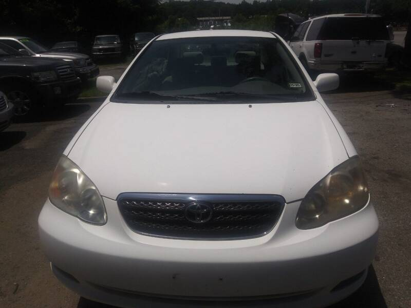 2008 Toyota Corolla for sale at Moreland Motorsports in Conley GA