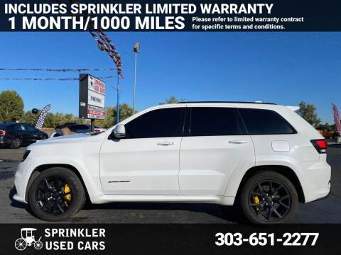 2018 Jeep Grand Cherokee for sale at Sprinkler Used Cars in Longmont CO