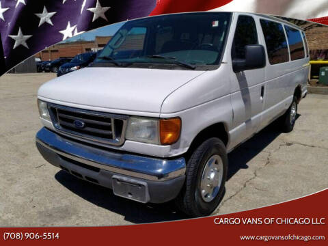 2007 Ford E-Series Wagon for sale at Cargo Vans of Chicago LLC in Mokena IL