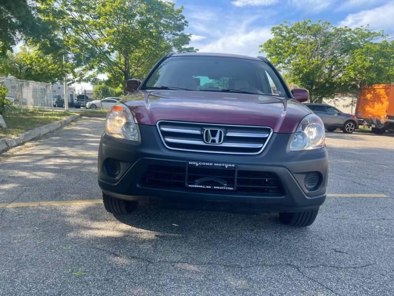 2006 Honda CR-V for sale at Welcome Motors LLC in Haverhill MA