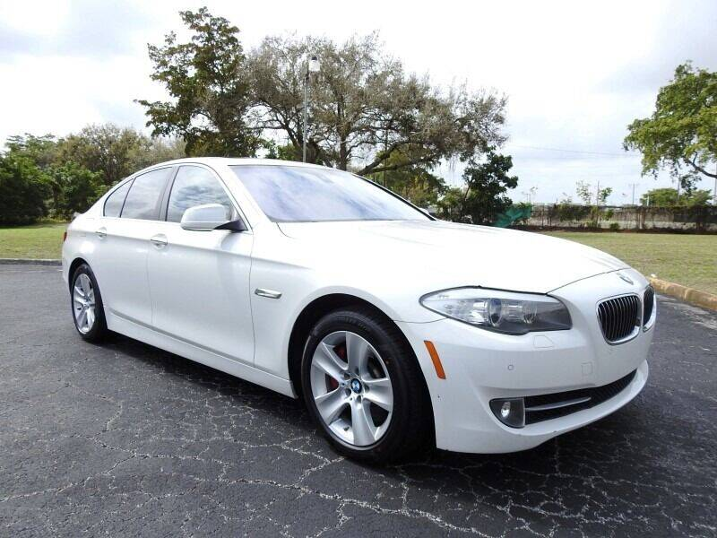 2011 BMW 5 Series for sale at SUPER DEAL MOTORS 441 in Hollywood FL