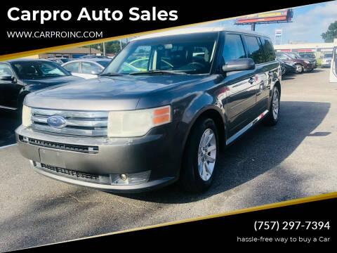2010 Ford Flex for sale at Carpro Auto Sales in Chesapeake VA