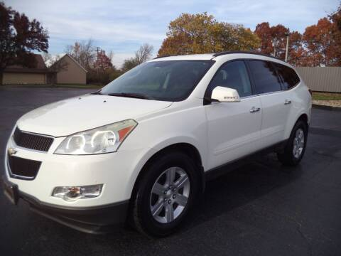 2012 Chevrolet Traverse for sale at Hawkins Motors Sales - Lot 1 in Hillside MI