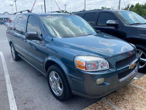2007 Chevrolet Uplander for sale at Auto Solutions in Warr Acres OK