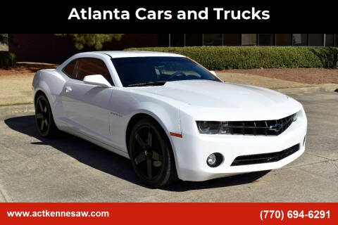 2012 Chevrolet Camaro for sale at Atlanta Cars and Trucks in Kennesaw GA