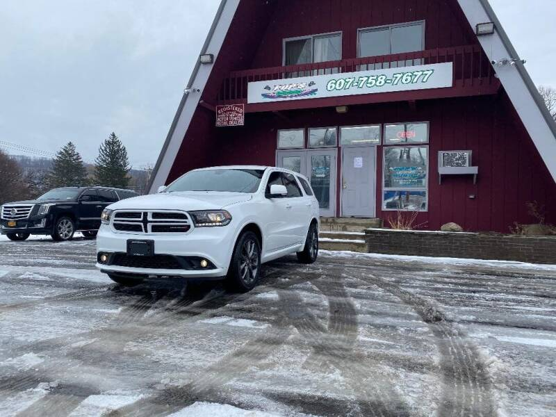 2018 Dodge Durango for sale at Pop's Automotive in Homer NY