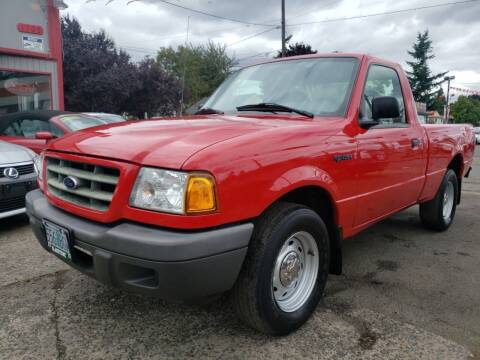 2001 Ford Ranger for sale at A1 Group Inc in Portland OR