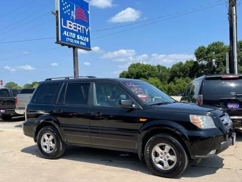 2008 Honda Pilot for sale at Liberty Auto Sales in Merrill IA