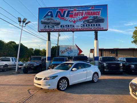2010 Honda Accord for sale at ANF AUTO FINANCE in Houston TX