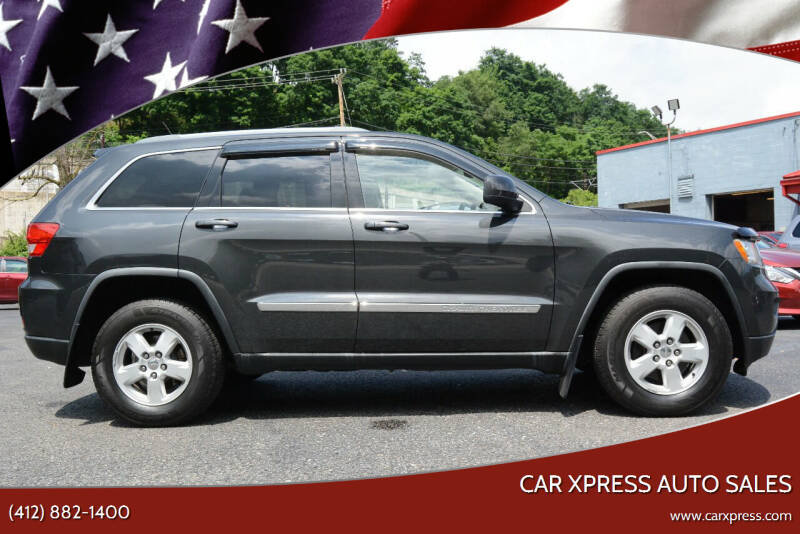 2011 Jeep Grand Cherokee for sale at Car Xpress Auto Sales in Pittsburgh PA