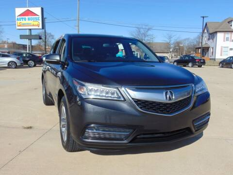 2014 Acura MDX for sale at Auto House Superstore in Terre Haute IN